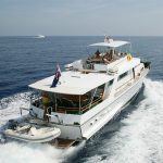 Motor Yacht Bettina day cruising